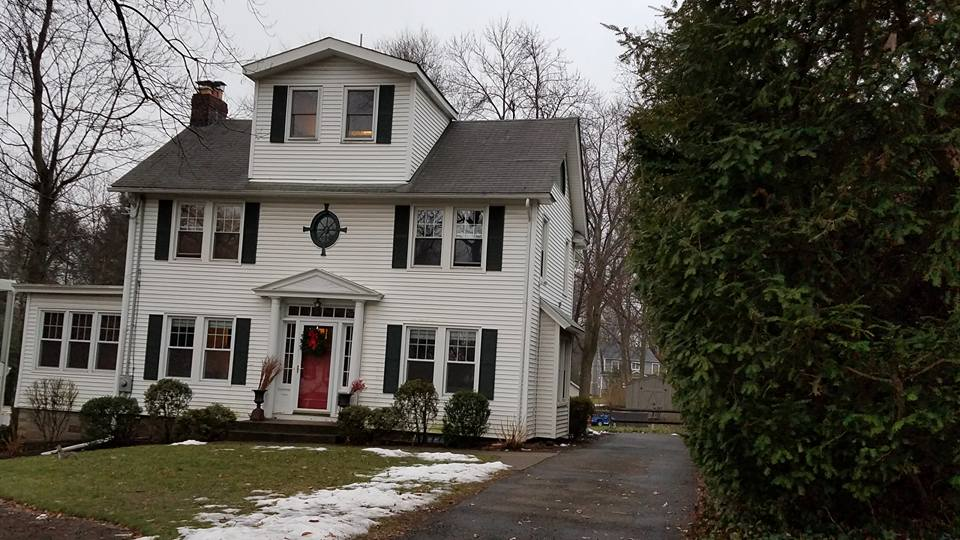 My grandparents' former home in Tenafly NJ