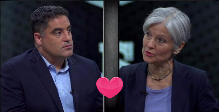 Cenk Uygur (The Young Turks) and Dr. Jill Stein