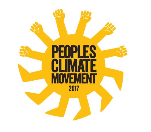 Logo for the People's Climate March,